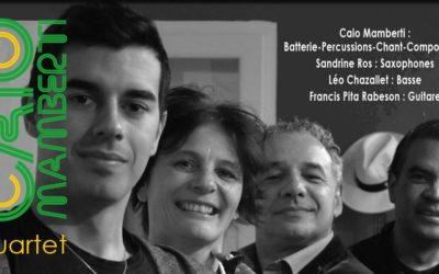 Caio Mamberti Quartet au Jazz Corner Café