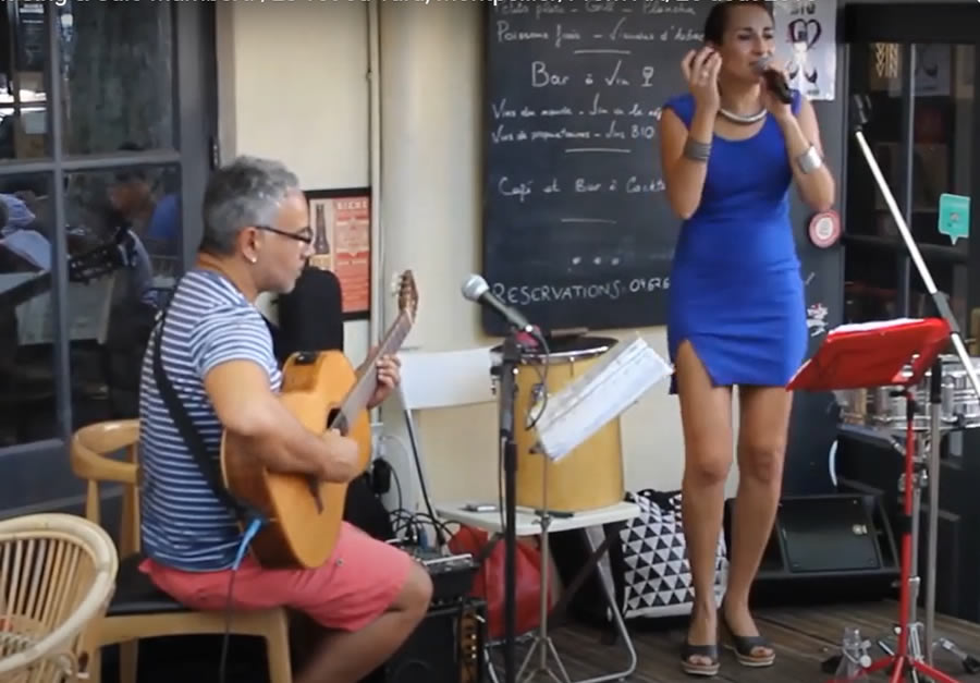 Duo Laet'it Sing Jazz & Bossa (Guitare-Percussions-Chant)