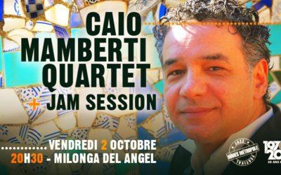 Caio Mamberti 4tet + Jam Session LeOff NMJF
