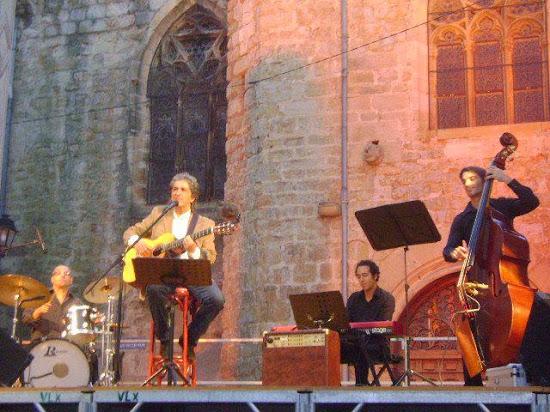 Accompagnateur (Percussions) du chanteur Paulo Costta